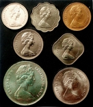 Багамы набор монет 1969 года, фото №11
