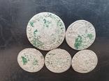 Лот средневековых монет, фото №4