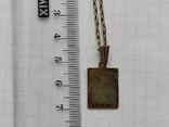 Кулон на цепочке серебро в позолоте 875 (звезда), фото №10