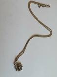 Кулон + цепочка 40 см. Серебро 925 проба., фото №3