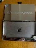 Шкатулка і візитниця. Лакова мініатюра з перламутром (Корея)., фото №8