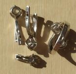 Серебряный набор серёжки, кольцо, кулон 925 проба, фото №5