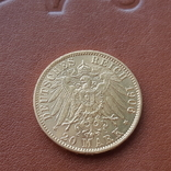 Золото 20 марок 1906 Пруссия Германия, фото №7