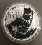 1 доллар 2018 Чорна пантера, фото №2
