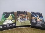 Видеокассеты 3 шт звёздные войны, фото №2