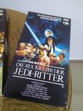 Видеокассеты 3 шт звёздные войны, фото №7