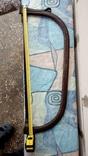 Пила лучковая металлическая, фото №5