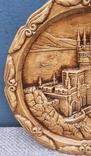 Крым ,Ласточкино гнездо.Тарелка настенная,гипс, фото №9