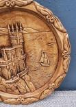 Крым ,Ласточкино гнездо.Тарелка настенная,гипс, фото №11