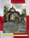 Акварель. Старая часть города., фото №2