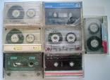 Аудио кассеты 15 шт, фото №8
