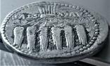 Кістофор Октавіана Августа, Іонія, Ефес, срібло, фото №12