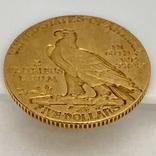 5 долларов. 1911. США (золото 900, вес 8,35 г), фото №7