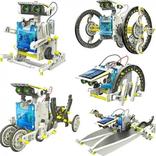 Конструктор - робот 13 в 1 на солнечных батареях., фото №6