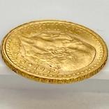 2,5 песо. 1945. Мексика (золото 900, вес 2,08 г), фото №13