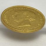 5000 реалов. 1863. Португалия (золото 917, вес 8,82 г), фото №9