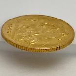 1/2 фунта (1/2 соверена). 1909. Эдуард VII. Великобритания (золото 917, вес 3,97 г), фото №9