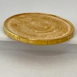 Один Червонец Сеятель. 1975. РСФСР (золото 900, вес 8,64 г), фото №8