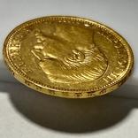 20 франков. 1859. Наполеон III. Франция (проба 900, вес 6,42 г), фото №7