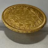 20 франков. 1859. Наполеон III. Франция (проба 900, вес 6,42 г), фото №8