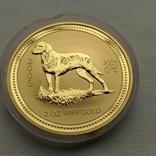 Австралия 200$ год Собаки 2006 год 2 унции золота 9999`, фото №2