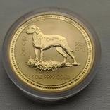 Австралия 200$ год Собаки 2006 год 2 унции золота 9999`, фото №3