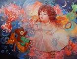""""""" Детские фантазии """" 35 x 45 (2020), фото №2"""