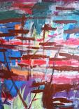"Интерьерная картина ""Releasing pleasure"" акрил, холст 80х60 см, фото №2"