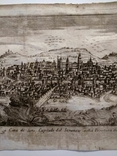 1758 Сенс Шампань Франция (карта план 37х21 Верже) СерияАнтик, фото №5