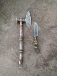 Топорик кухонный и нож СССР., фото №2