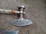 Топорик кухонный и нож СССР., фото №5