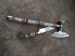 Топорик кухонный и нож СССР., фото №8