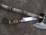 Топорик кухонный и нож СССР., фото №9