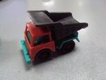 Машинка самосвал трактор ссср лот 3 шт, фото №6