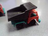 Машинка самосвал трактор ссср лот 3 шт, фото №11