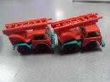 Машинка пожарная машина ссср лот 3 шт, фото №12