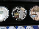 Набор монет - ГОРОДА И ЖИВОТНЫЕ АВСТРАЛИИ - серебро 999, РЕДКИЙ - тираж до 2000, фото №5