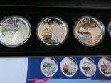 Набор монет - ГОРОДА И ЖИВОТНЫЕ АВСТРАЛИИ - серебро 999, РЕДКИЙ - тираж до 2000, фото №6
