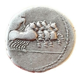 Анонимный. Денарий Рим, 86 г. до н.э., фото №3