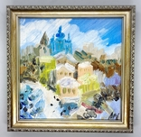 "Картина ""Киев зимой"", фото №2"