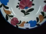 Старинная настенная тарелка №1Миниатюрная 14см, фото №3