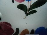 Старинная настенная тарелка №1Миниатюрная 14см, фото №7