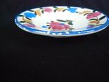 Старинная настенная тарелка №1Миниатюрная 14см, фото №8