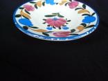 Старинная настенная тарелка №1Миниатюрная 14см, фото №9