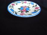 Старинная настенная тарелка №2 Миниатюрная 14см., фото №9