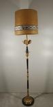 Підлогова лампа, торшер бронзовий з мармуром арт. 0724, фото №3