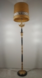 Підлогова лампа, торшер бронзовий з мармуром арт. 0724, фото №4
