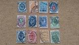 Набор почтовых марок 205 штук, фото №2