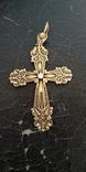Золотой крестик 583 проба, фото №5