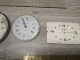 Циферблаты металлические к разным настольным часам, 7 шт., фото №5